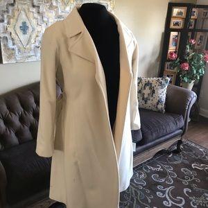 Lauren coat cream size 14